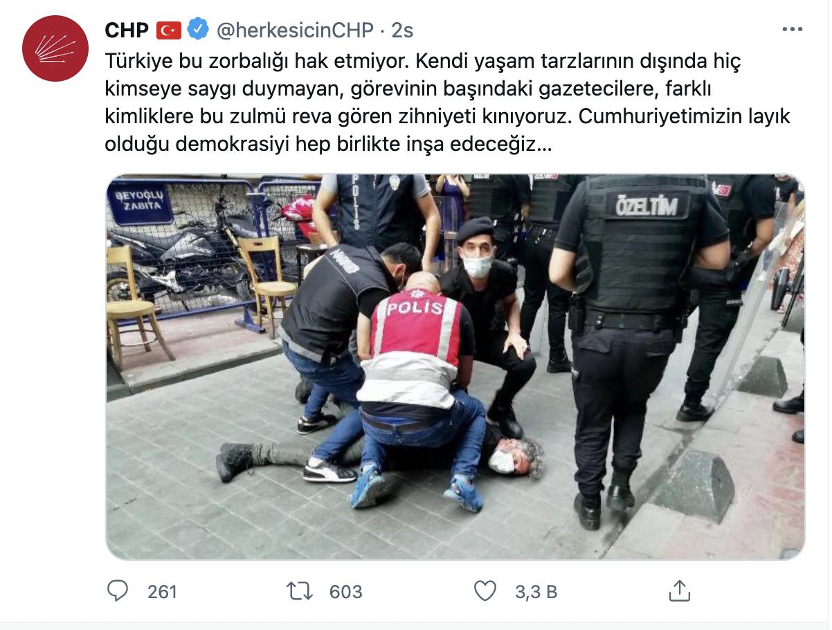 Dört bakan yardımcısından CHP'ye yanıt: Zorbalık değil - Sayfa 1
