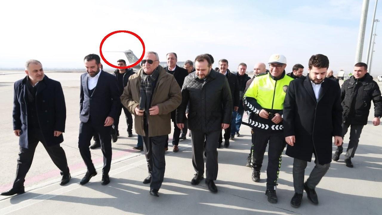 Mehmet Ağar da SBK'nin özel uçağını kullanmış