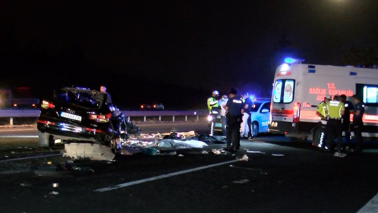 Ankara'da trafik kazası: 3 kişi vefat etti