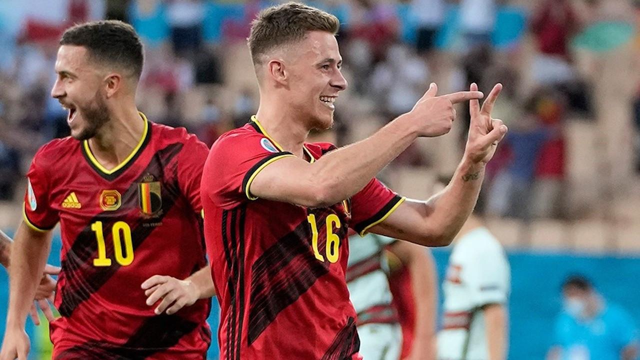 Belçika, EURO 2020'de çeyrek finale yükseldi