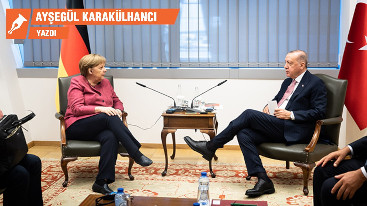 Merkel'den Erdoğan'a veda hediyesi
