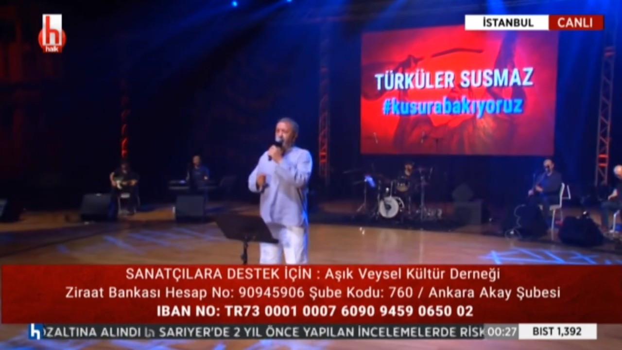 Halk TV'den müzisyenlere destek gecesi