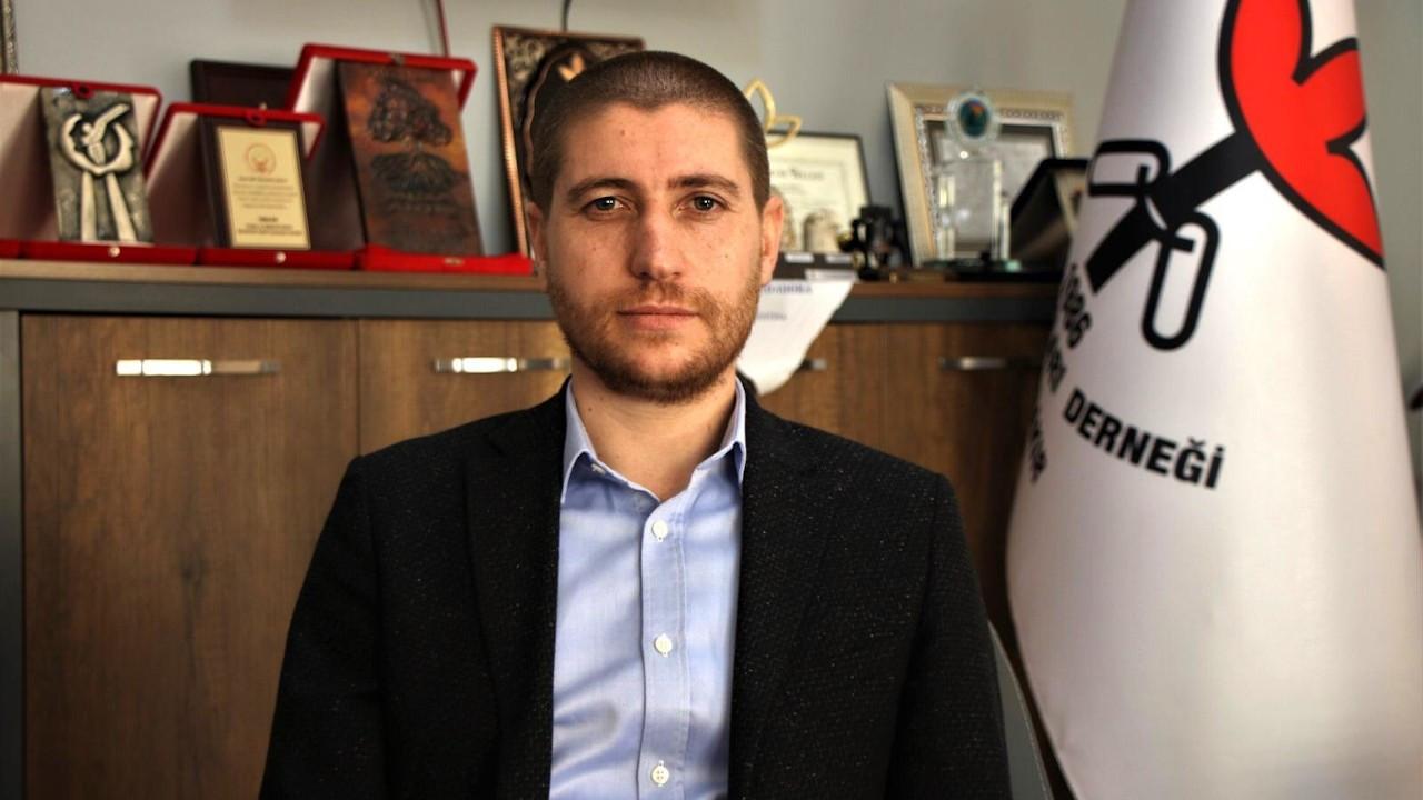 İHD Diyarbakır Şube Başkanlığı'na yeniden Abdullah Zeytun seçildi