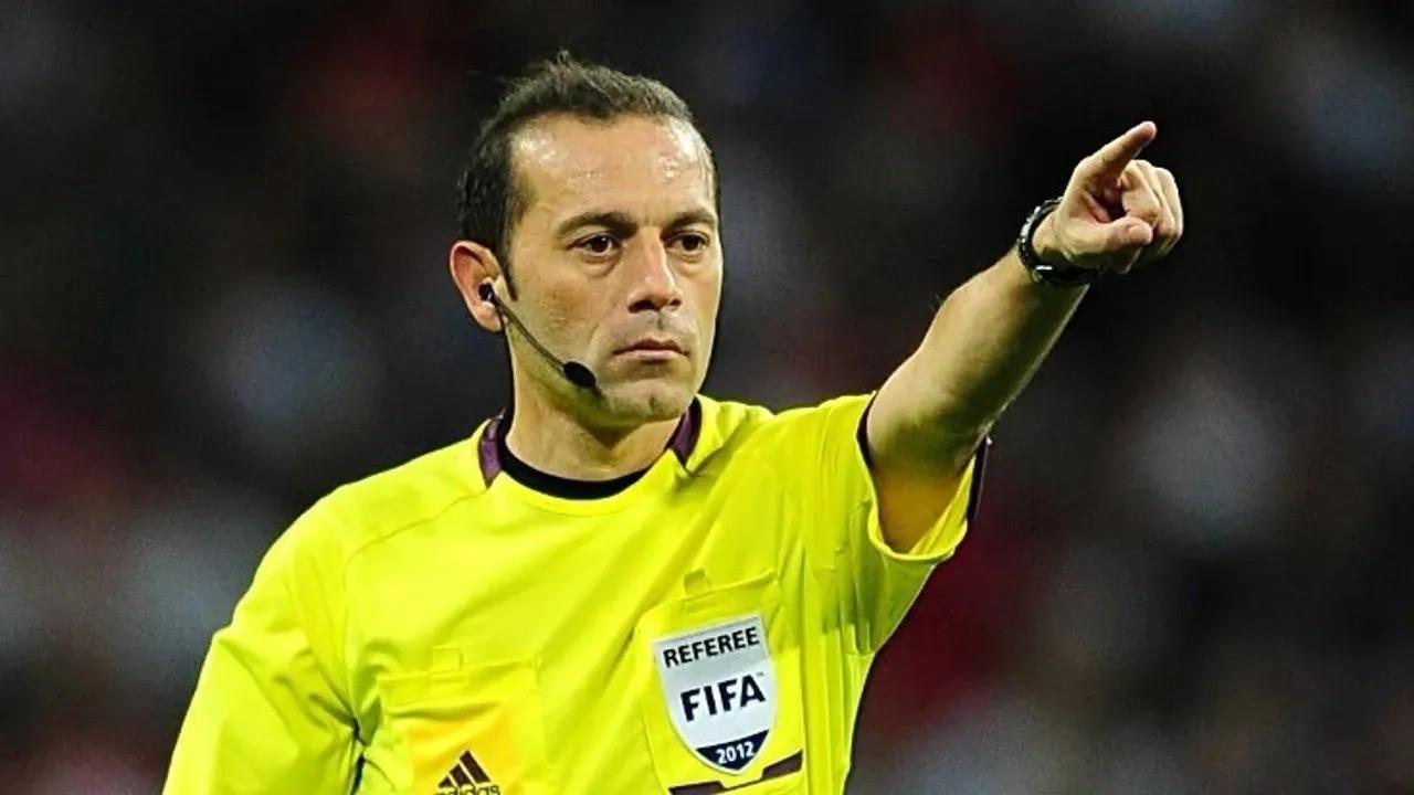 UEFA'dan Cüneyt Çakır'a Şampiyonlar Ligi görevi