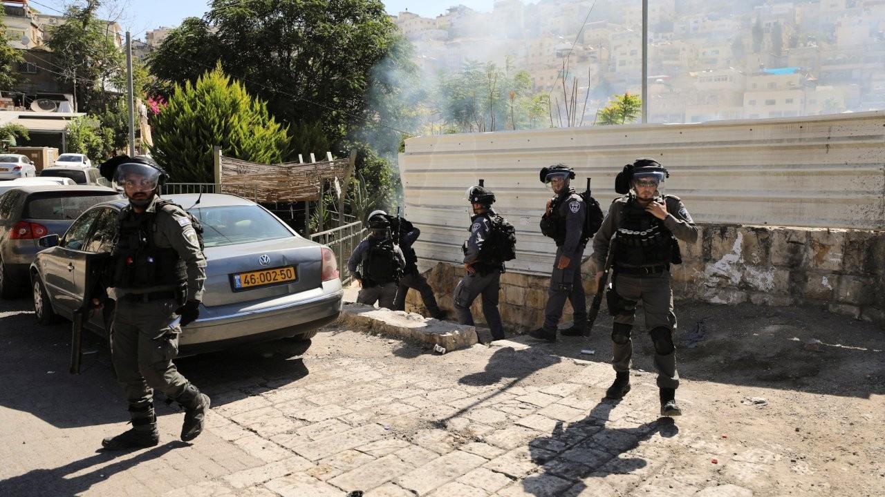 İsrail polisi Doğu Kudüs'te Filistinli bir kasabın dükkanını yıktı
