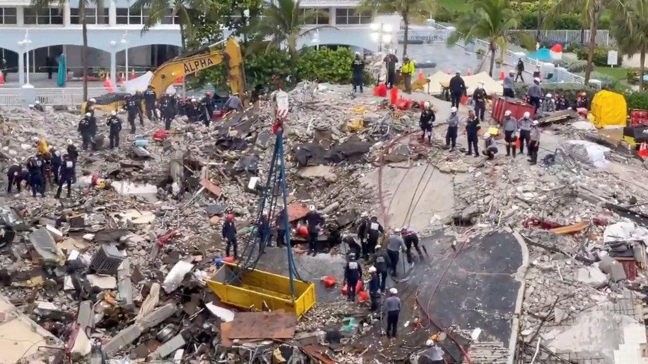 Miami'de çöken binada ihmal belgelendi: Bodrum duvarları çatlamış