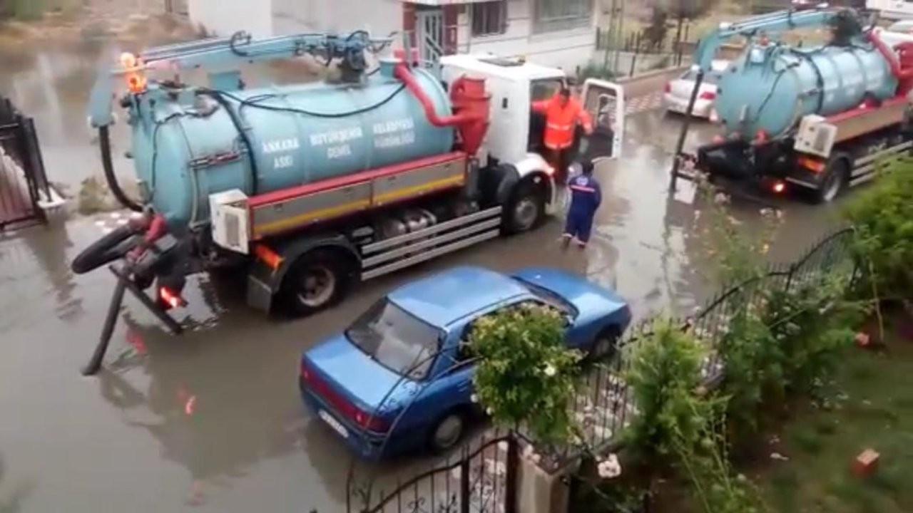 Aynı evleri 7 yıldır her yağmurda su basıyor
