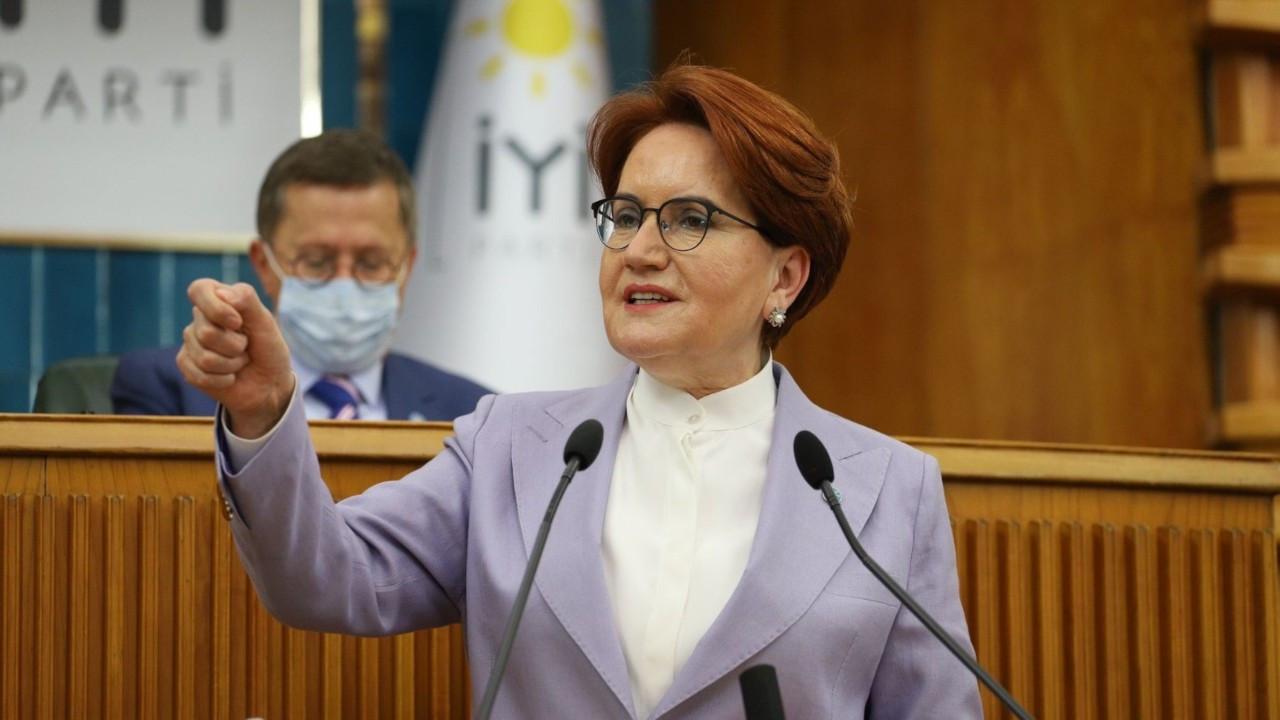 Akşener: Bu tiksindirici borcu bizden değil, Erdoğan'dan alacaksınız