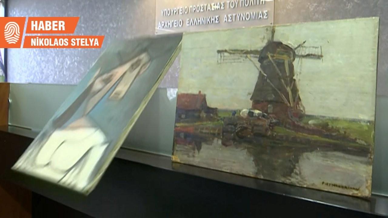 Yunanistan'da Picasso tablosu basın toplantısında yere düştü