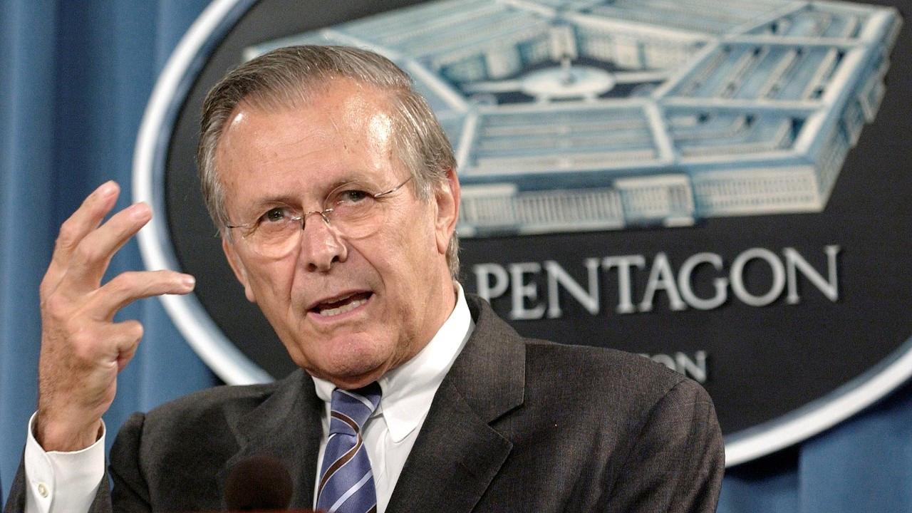 Afganistan ve Irak'ın işgalinin mimarlarından Donald Rumsfeld öldü