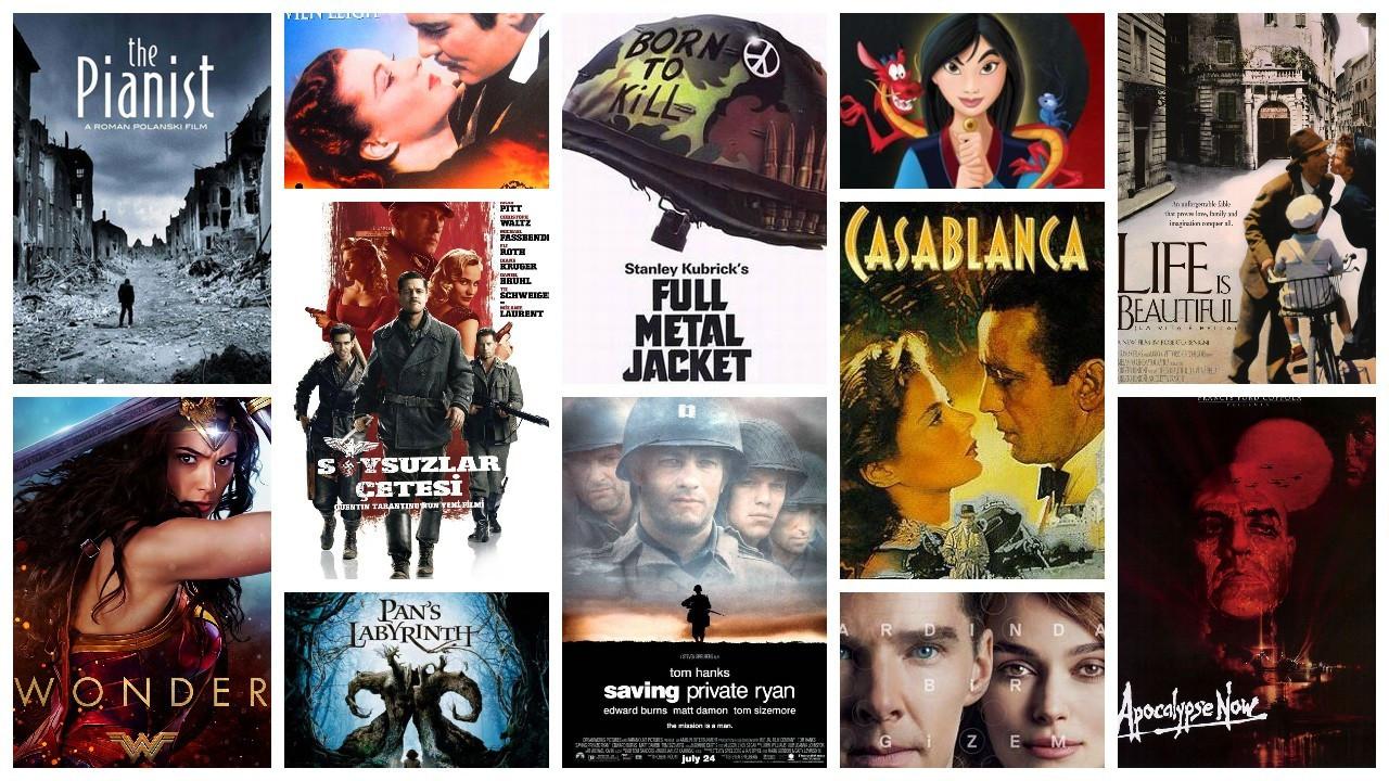 IMDb'ye göre en popüler 50 savaş filmi