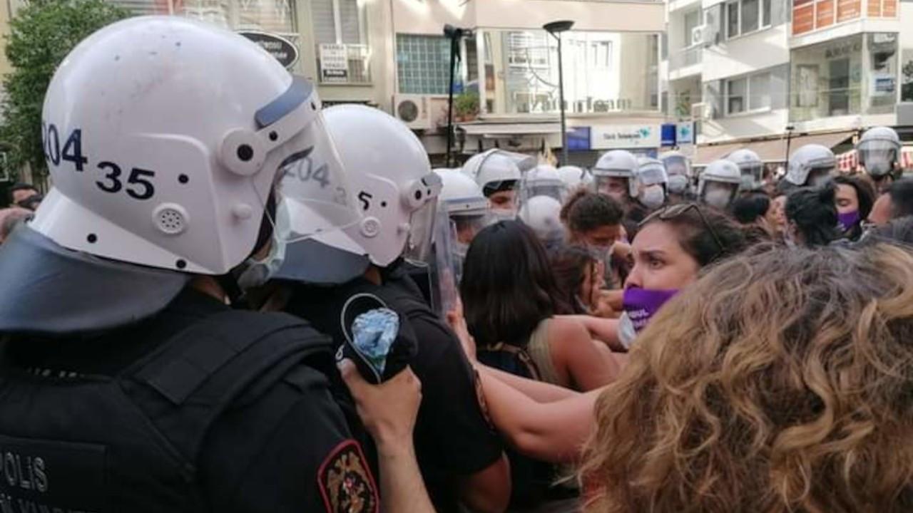 İstanbul Sözleşmesi protestosuna polis engeli