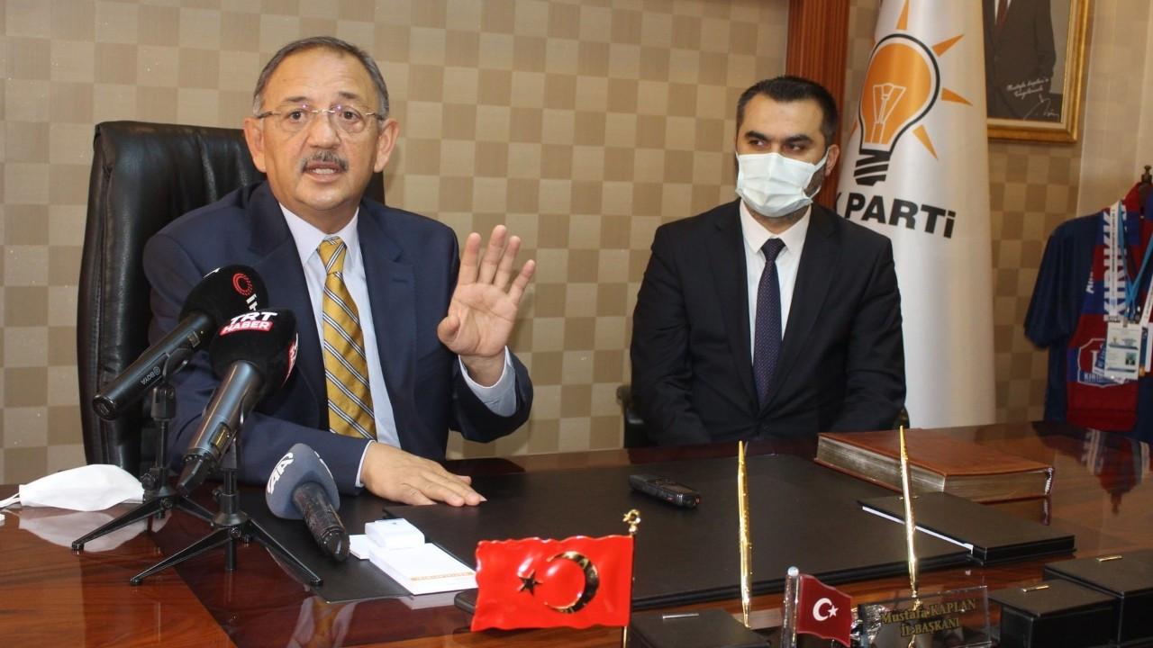 Özhaseki: Ankara ve İstanbul moralimizi bozsa da yine birinci partiyiz