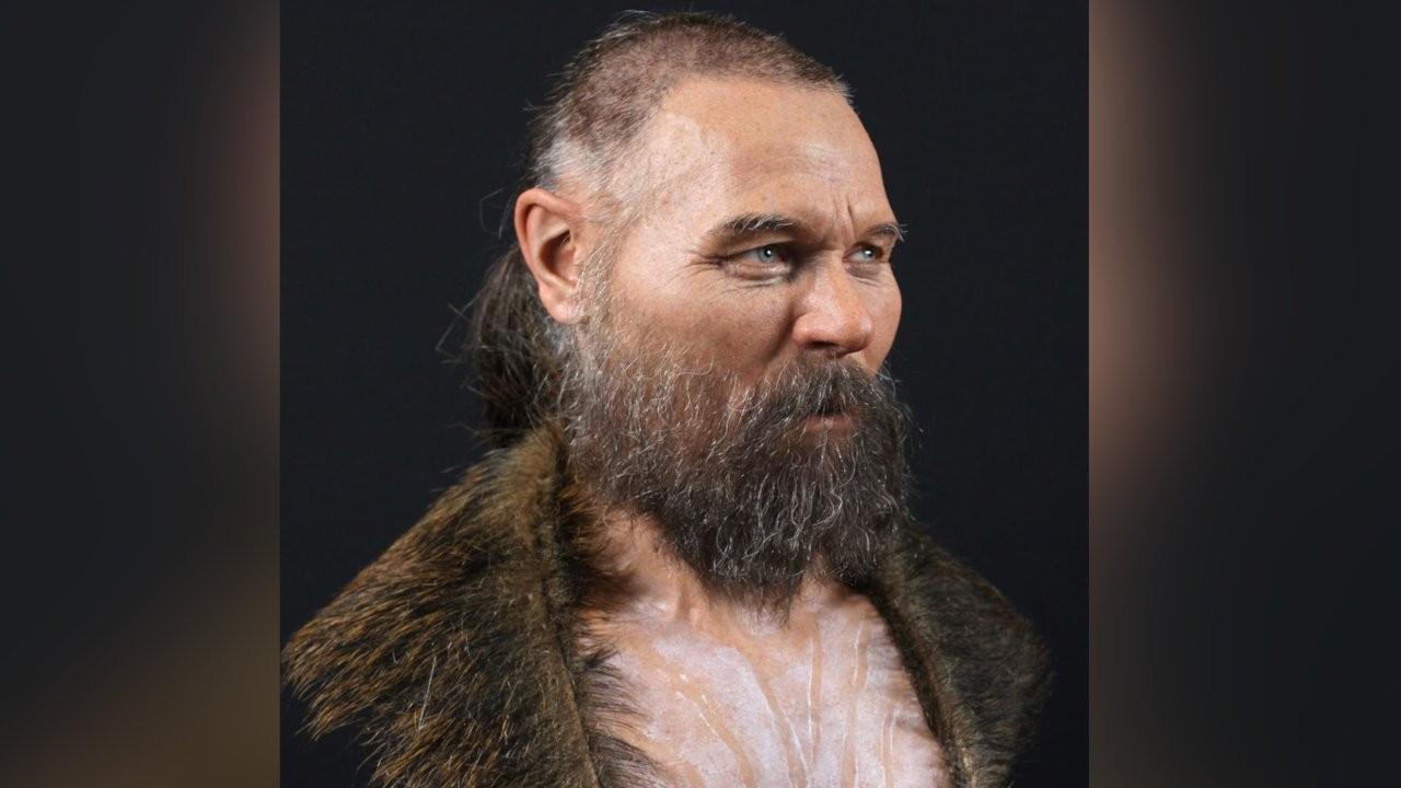 Sekiz bin yıl önce yaşamış bir erkeğin yüzü yeniden yapılandırıldı