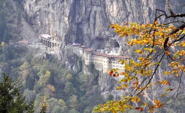 Sümela Manastırı'nda 360 tonluk tehlike - Sayfa 4