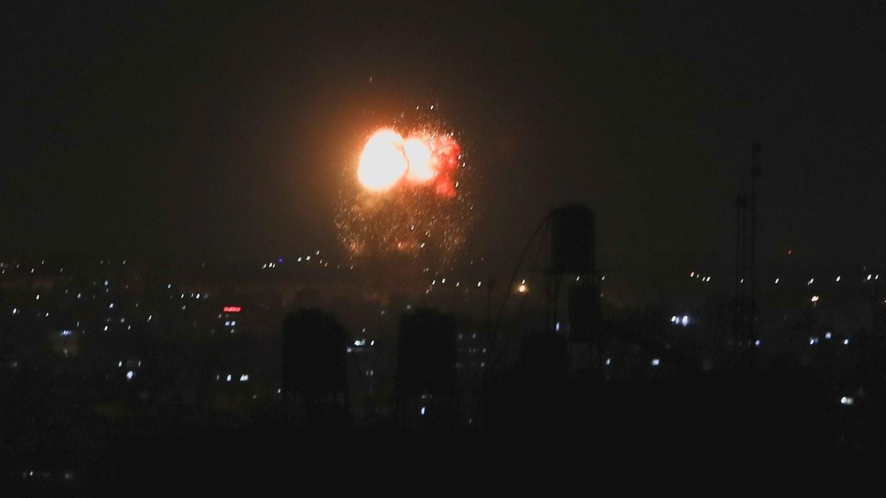 İsrail, Gazze'ye hava saldırısı düzenledi