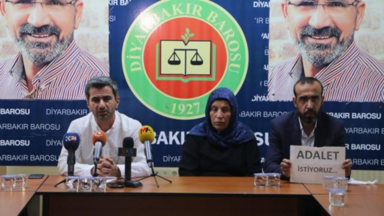 Şenyaşar ailesi 'adalet' için Diyarbakır'da