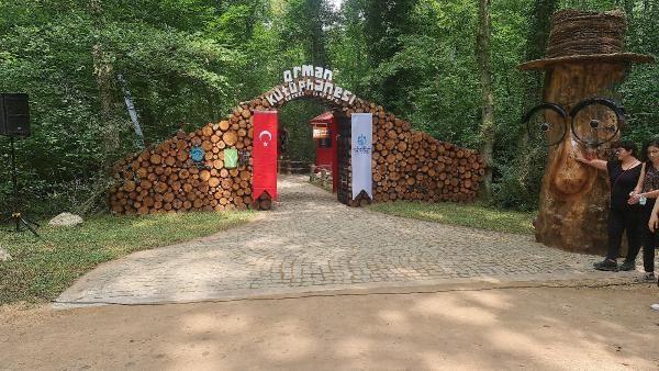 Bir ilk: Ormana kütüphane kuruldu - Sayfa 1