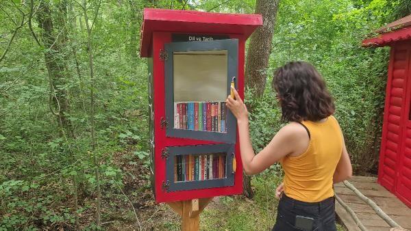 Bir ilk: Ormana kütüphane kuruldu - Sayfa 4