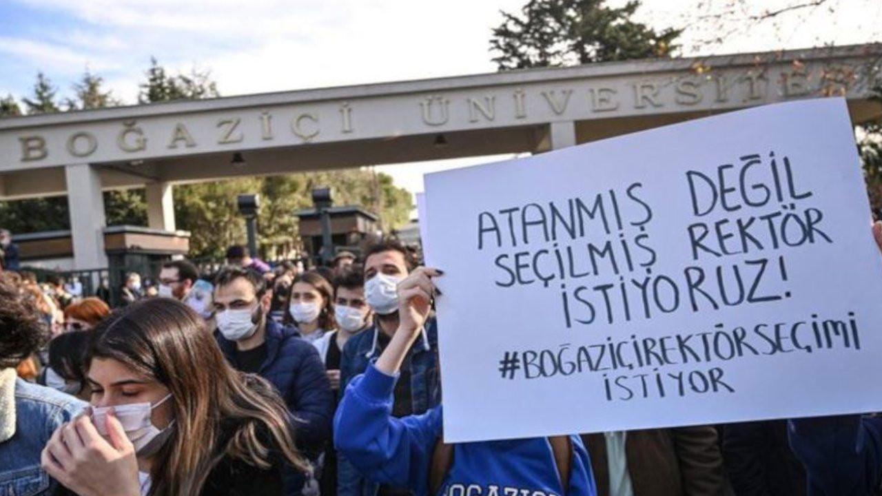 Rektör istedi Boğaziçi'nde akademisyenler içeri alınmadı