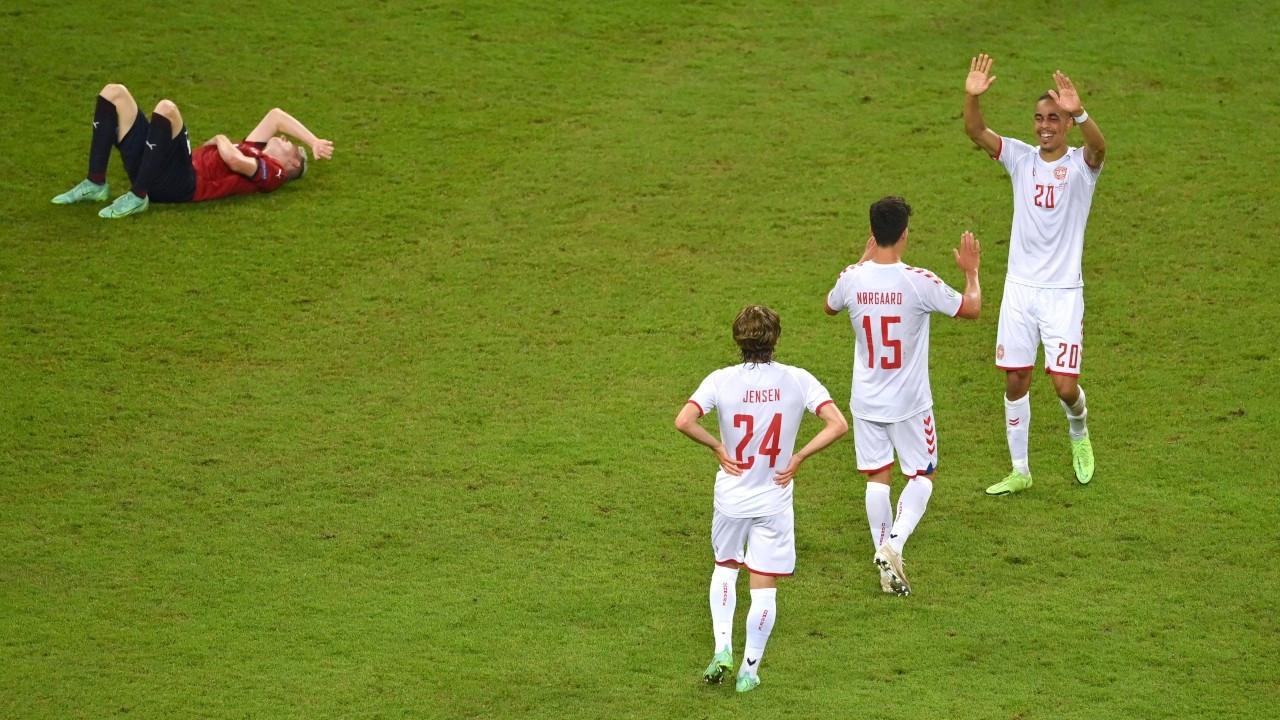 EURO 2020'de Danimarka, Çekya'yı eledi