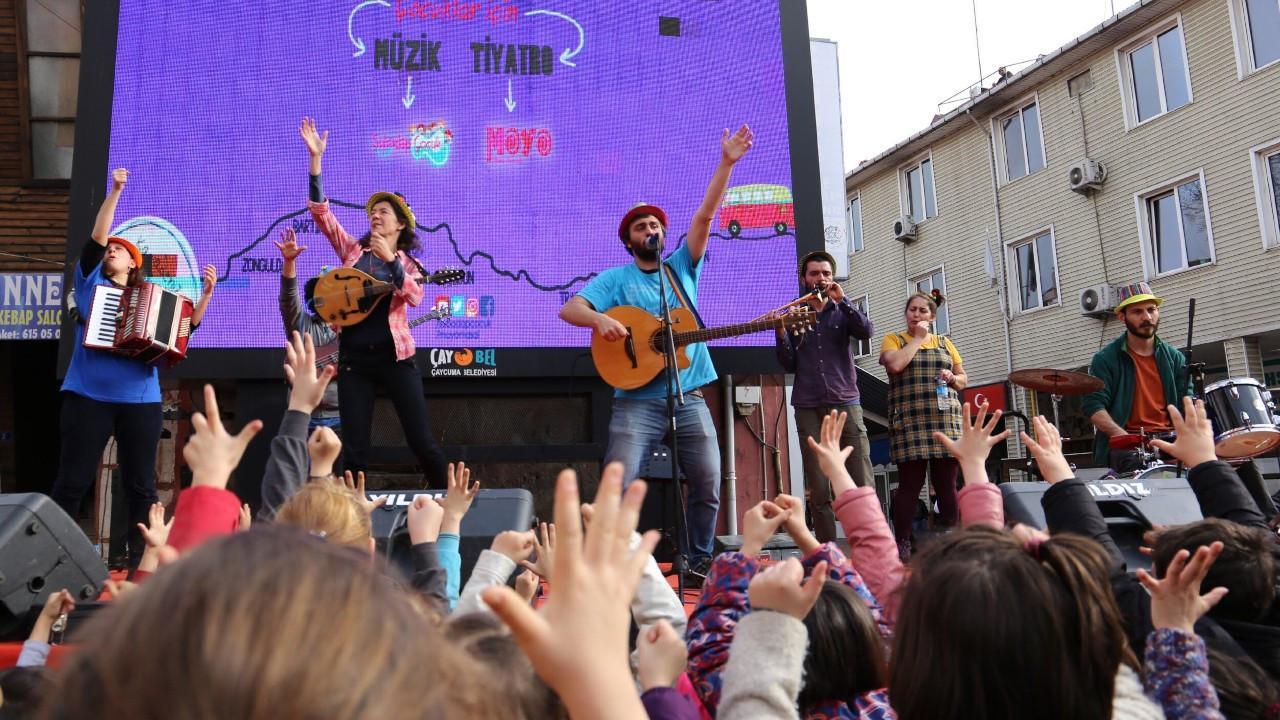 İzmir'de Şubadap Çocuk konseri