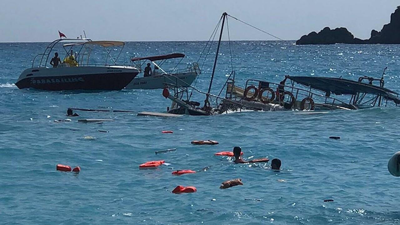 Fethiye'de batan tur teknesinin kaptanı adli kontrolle serbest