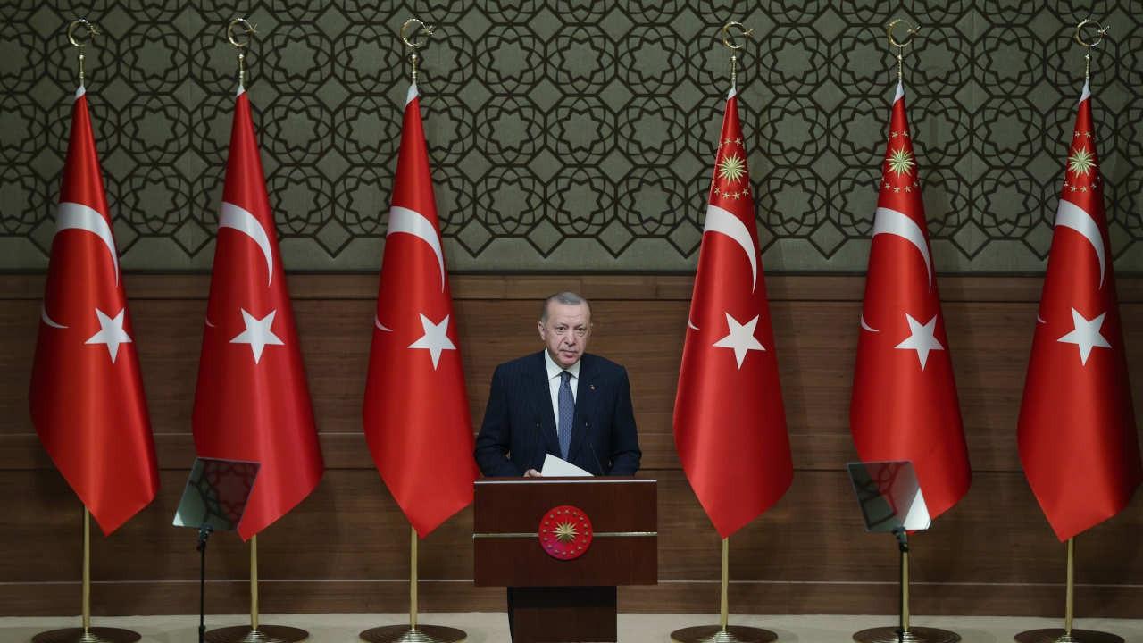 Erdoğan: Ankara'nın 2050'ye kadarki içme suyu ihtiyacını gideriyoruz