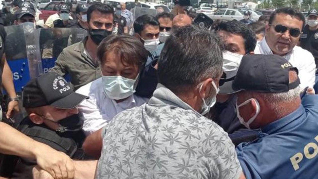 Polis 'Adalet Nöbeti'ne saldırdı: Gözaltına alınanlar serbest