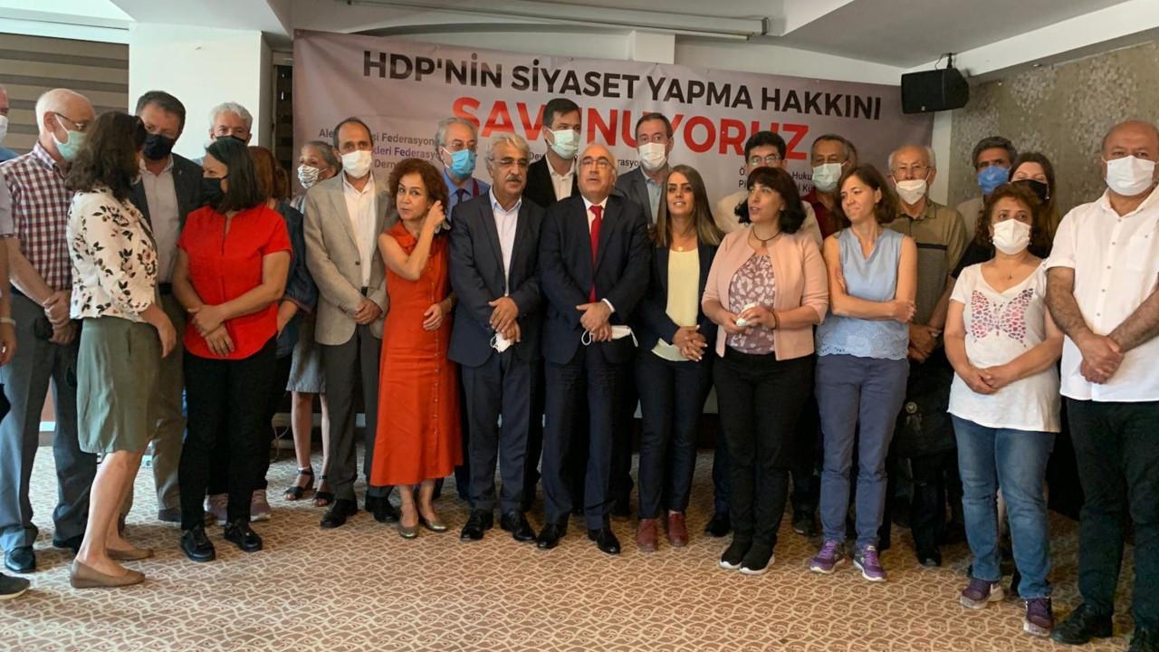 46 kuruluştan açıklama: HDP'nin siyaset yapma hakkını savunuyoruz
