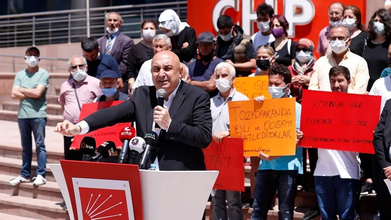 Tozkoparanlılar Ankara'da: Cumhurbaşkanımız gelmedi