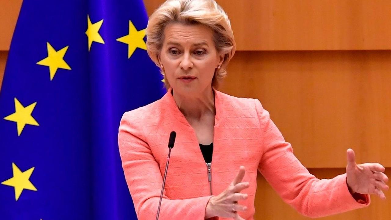 von der Leyen: Kıbrıs'ta iki devletli çözümü asla kabul etmeyeceğiz