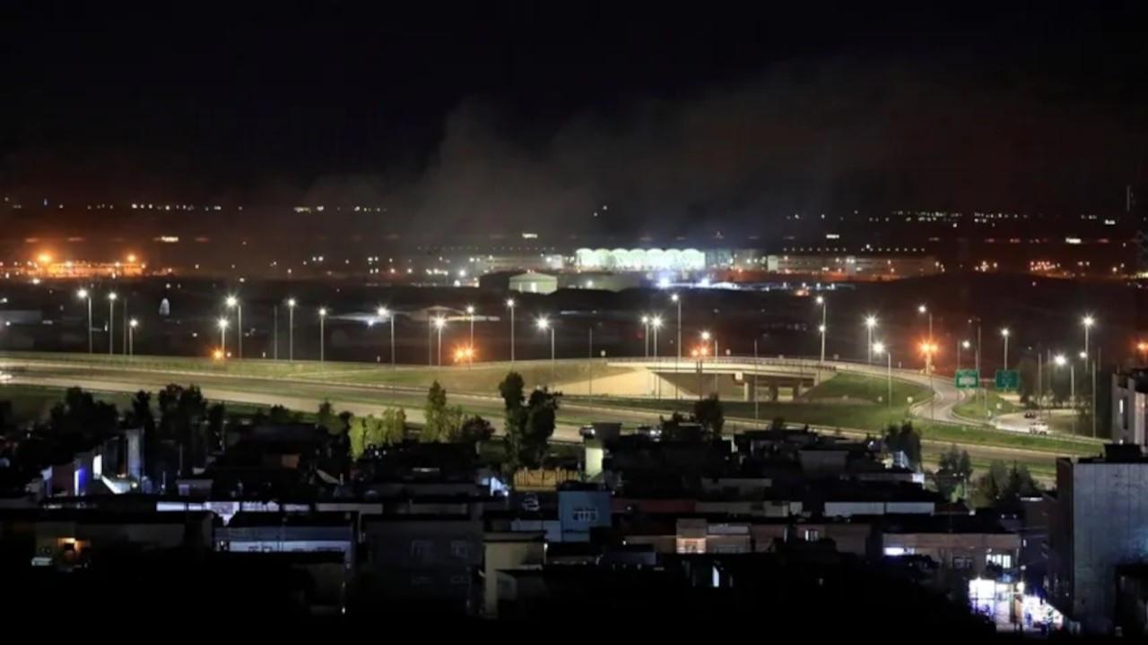 Uluslararası Erbil Havaalanı'na bombalı İHA'yla saldırı