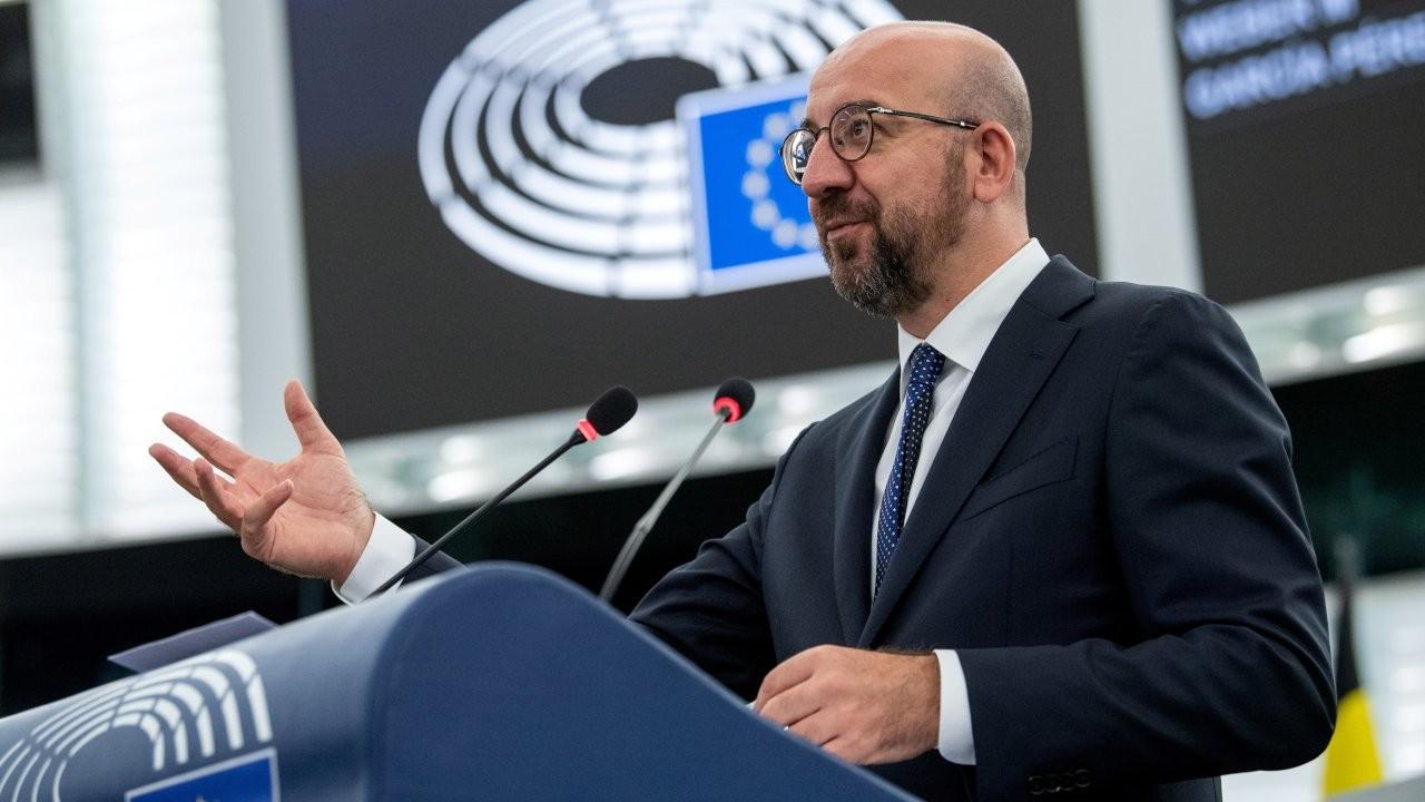 AB Konseyi Başkanı Michel'den Türkiye ve Kıbrıs açıklaması