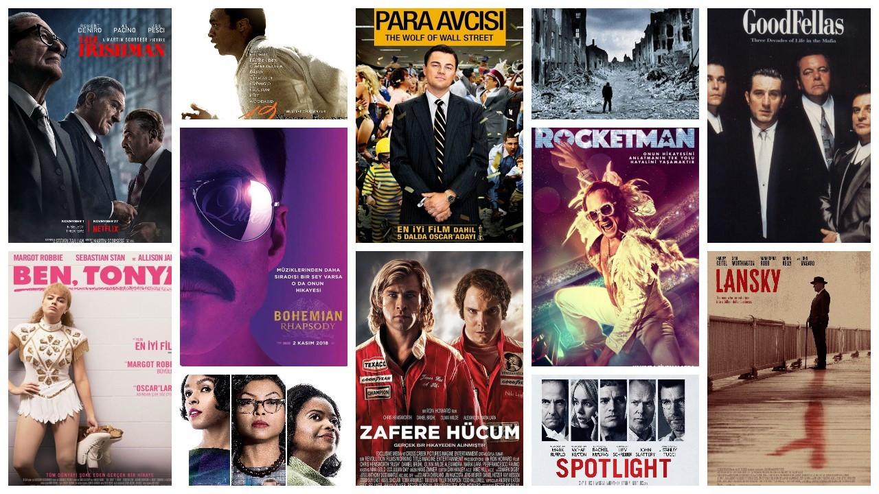 IMDb'ye göre en popüler 50 biyografi filmi