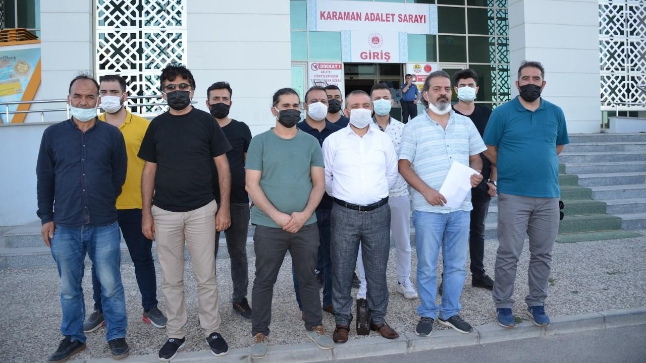 Karaman'da belediye personeli gazetecilere saldırdı