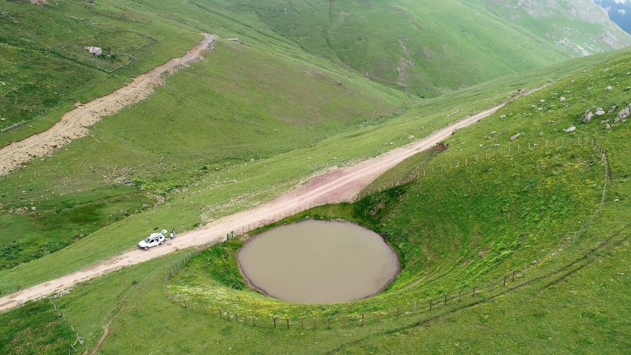 Kurutulan Dipsiz Göl eski haline dönemiyor