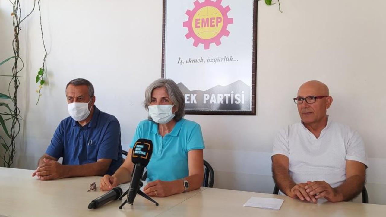 EMEP'ten parti binasına yönelik tacizlere karşı suç duyurusu