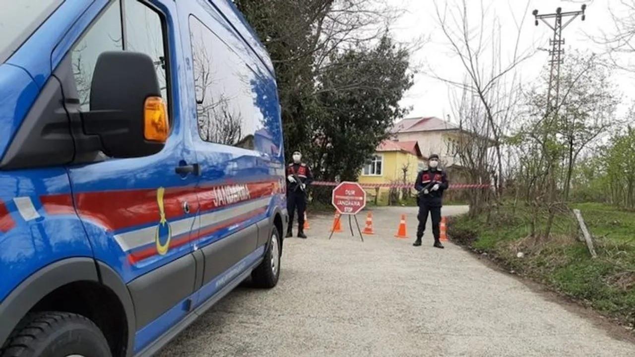 Çorum ve Kastamonu'da 2 köy karantinaya alındı