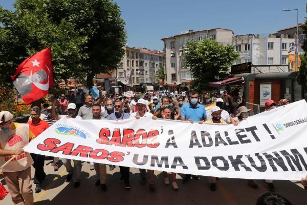 Mitingde 2 bin kişi, tek ses: Saros'uma Dokunma - Sayfa 2