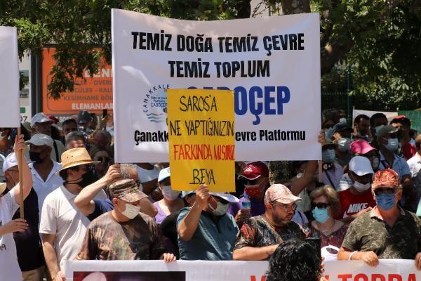 Mitingde 2 bin kişi, tek ses: Saros'uma Dokunma - Sayfa 3