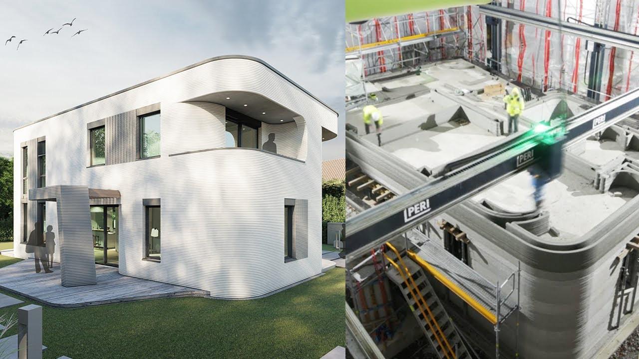 İBB, üç boyutlu yazıcıyla bir haftada 155 metrekarelik bina inşa etti