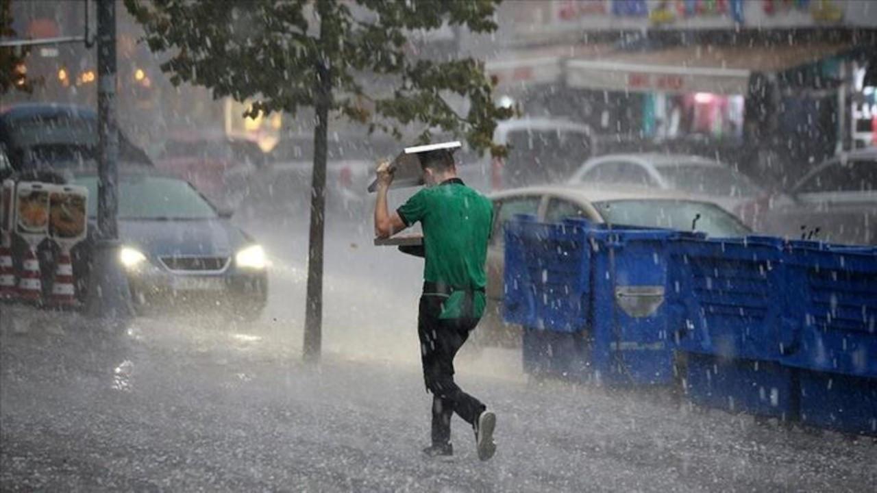 Meteorolojiden 12 il için sağanak yağış uyarısı