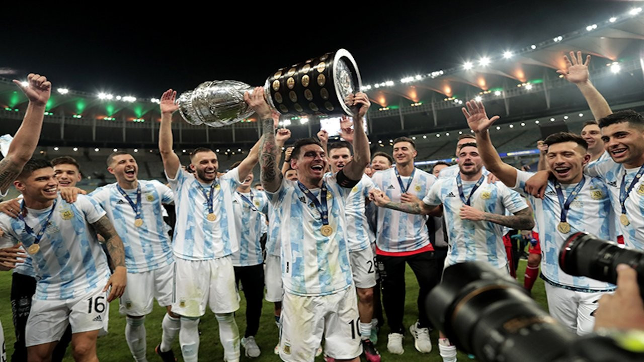 Arjantin 28 yıl sonra  Kupa Amerika'yı kazandı, halk sokaklara döküldü