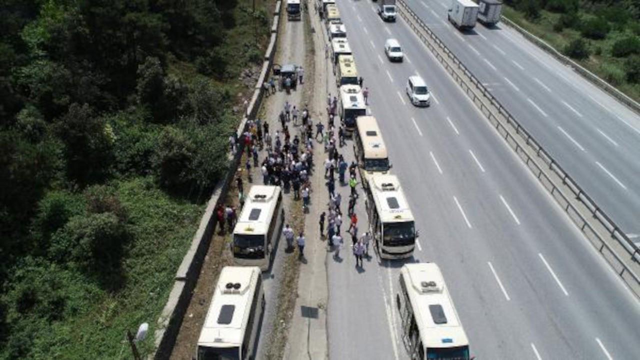 Minibüsçülerden 'Kahya' isyanı: Para vermezsen dövüyorlar
