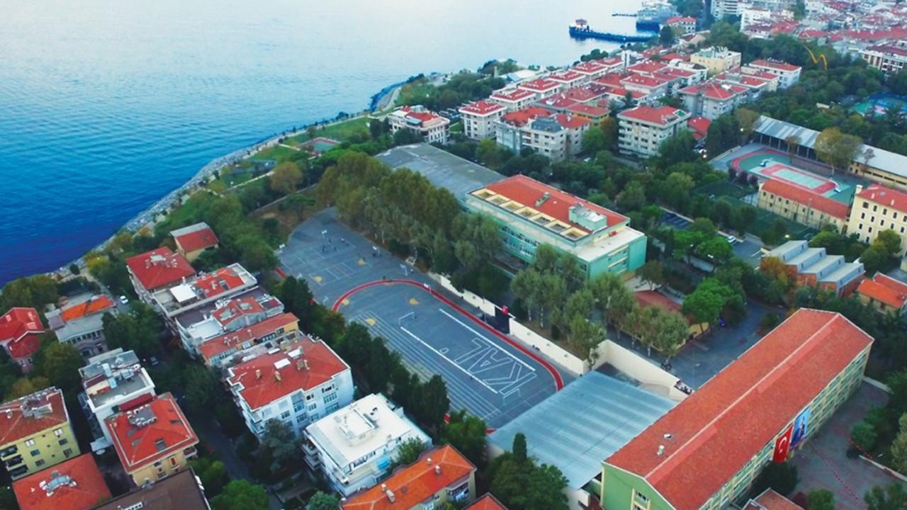 Kadıköy Anadolu Lisesi'nin bir bölümü yol projesine ayrılmış