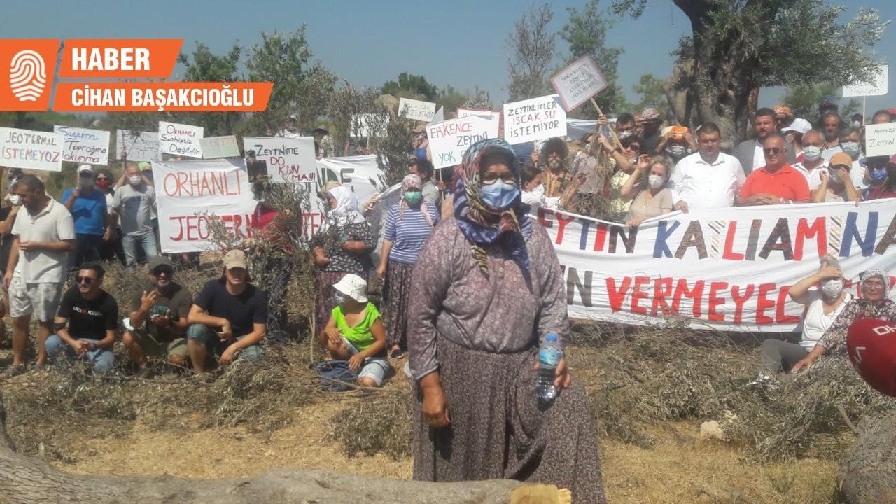 İzmir'de JES protestosu: Orhanlı'ya sahip çıkmamak köyümüze ihanettir