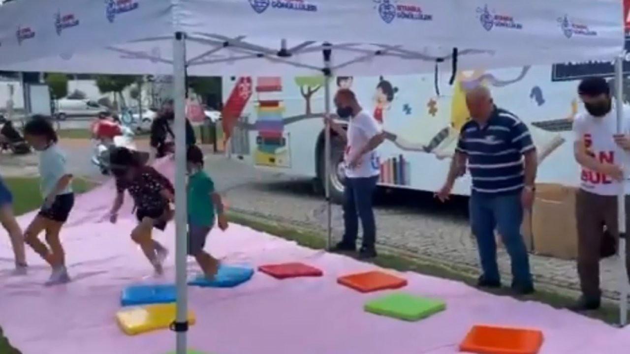 AK Partili belediye, çocuklar için yapılan etkinliği engelledi