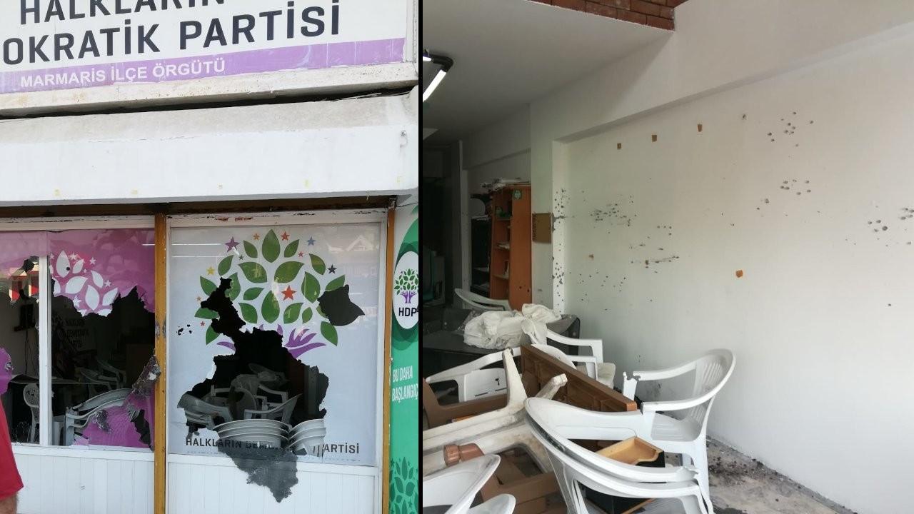 Marmaris'teki HDP saldırısının 'azmettiricisi' gözaltına alındı