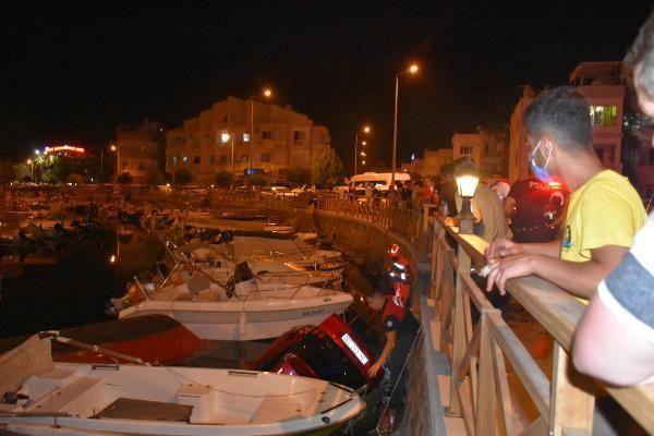 Cip, deredeki teknenin üzerine uçtu, ikisi de battı - Sayfa 4
